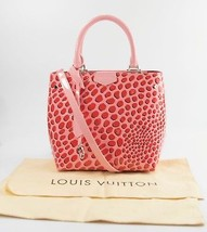 Louis Vuitton Monogram Vernis Jungle Dots Sugar Pink Poppy Limited Edition Tote