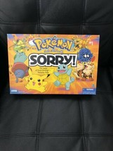Pokemon Sorry!  Parker Brothers Board Game  2000 gotta catch'em all 98% ... - $46.54
