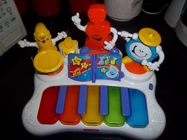 Fisher-Price Little Superstar Jammin' Band Piano, Works Well - $14.84