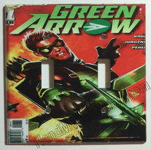 Green Arrow Comic Book Light Switch Duplex Outlet Cover Plate & more Home decor image 4