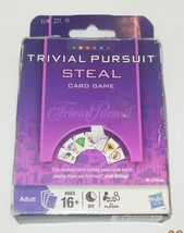 2009 Hasbro Trivial Pursuit Steal Card Game Family - $9.50