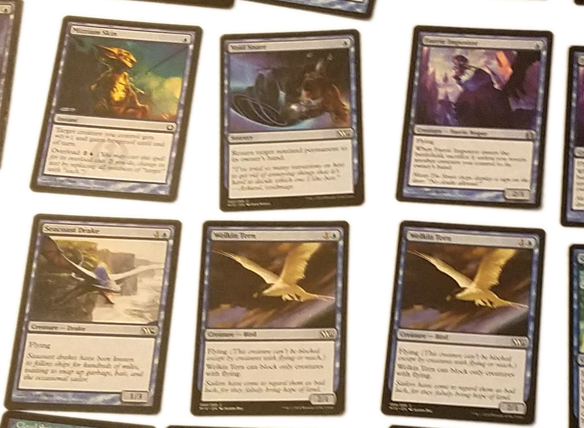 Magic the Gathering MTG Blue Flying (60) Card Custom Starter Deck * 02