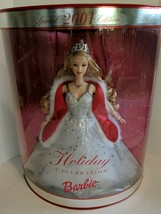 Mattel Special Edition 2001 Holiday Celebration Barbie Doll Mint In Box - $49.95