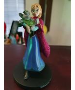 Extremely Rare! Walt Disney Frozen Anna Walking with Troll Figurine Statue  - $267.30