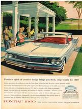 Vintage 1960 Magazine Ad Pontiac Spirit of Creative Design Brings Fresh Beauty - $5.93