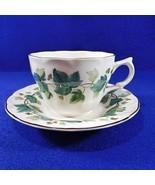 Vintage Ivy Nikko Greenwood Cup and Saucer - $17.50