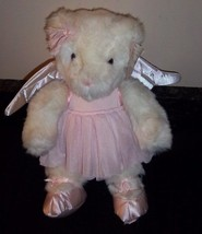 VICTORIA SECRET Angel Wings GUND Plush Ballerina Bear with Tags Special ... - $23.75