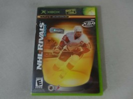 NHL Rivals 2004 Original Microsoft Xbox Game Complete Free Ship - $11.87