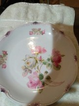 Pair of Floral Design Dish Decor Rocky MTN USA & Imported - $9.48