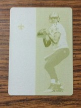 2017 Panini Contenders Printing Plate 1/1 Yellow Drew Brees New Orleans ... - $19.75