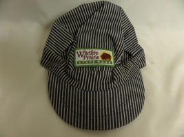 WILDLIFE PRAIRIE STATE PARK STRIPED HAT SIZE SMALL - $14.00