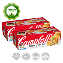 Campbell's Condensed Cream of Chicken Soup (10.5 oz., 10 pk.) (2pk) - $49.42