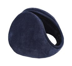 Ear Warmers Men And Women Soft Plush Winter Earmuff, Navy - $9.99