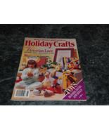 Holiday Crafts Magazine 1989 Christmas Treasure - $2.99