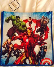 Marvel The Avengers Animated  Reusable Tote Shopper Gift Bag  NEW!  - $6.25