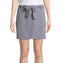 St. John's Bay Active Woven Skorts Colonial Pewter Size PM New  - $14.99