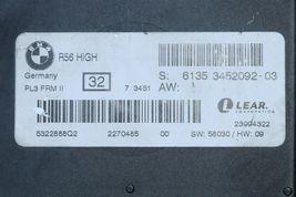 Mini R56 BCM FCM Footwell Light Control Multifunction Module 6135-3452092-03 image 3