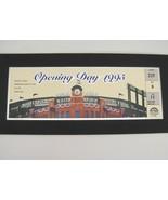Colorado Rockies 1995 Opening Day Coors Field Matted Ticket Season Ticke... - $15.83