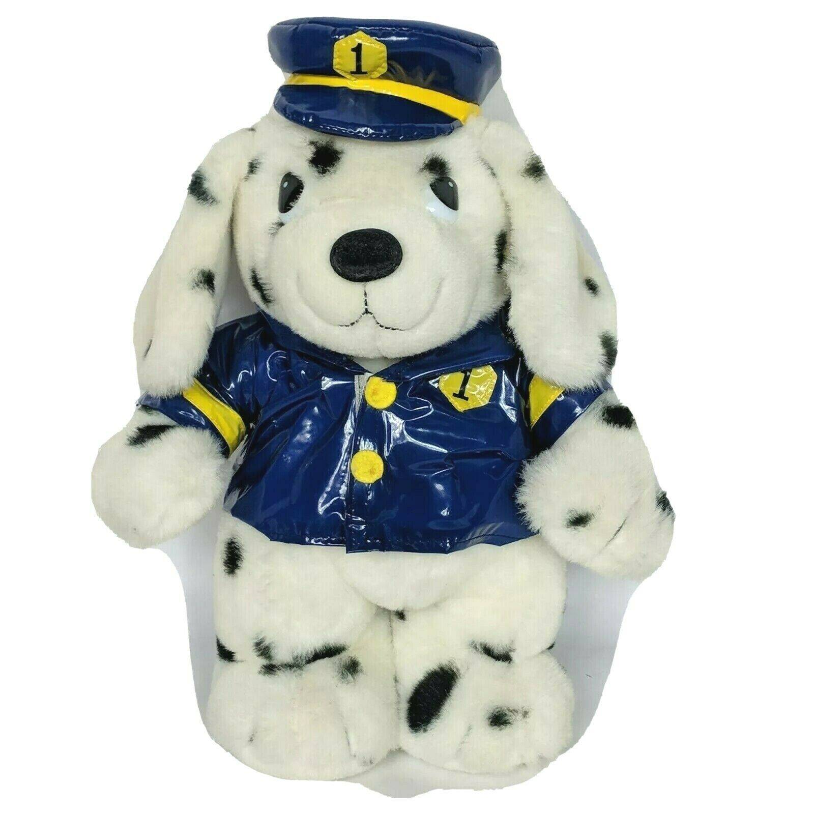 "MTY International Crossing Guard Security Dalmation Dog Plush Stuffed Animal 15"" - $52.86"