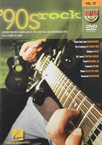 '90s Rock - Guitar Play-Along DVD Volume 10 [DVD]