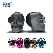 NEW Skeleton Head of Bluetooth Speaker Creative Skullless Wireless Subwo... - $29.21