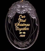 HALLMARK KEEPSAKE OUR FIRST CHRISTMAS TOGETHER 1998 - $5.93
