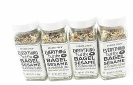 4 Trader Joe's Everything but the Bagel Sesame Seasoning Blend Joe's Spice  - $32.45