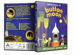 Childrens DVD - Button Moon Adventures Of DVD - $20.00