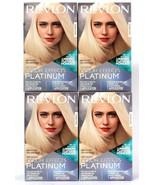 4 Revlon Color Effects Platinum Light Blonde To Light Brown Hair Permane... - $37.99
