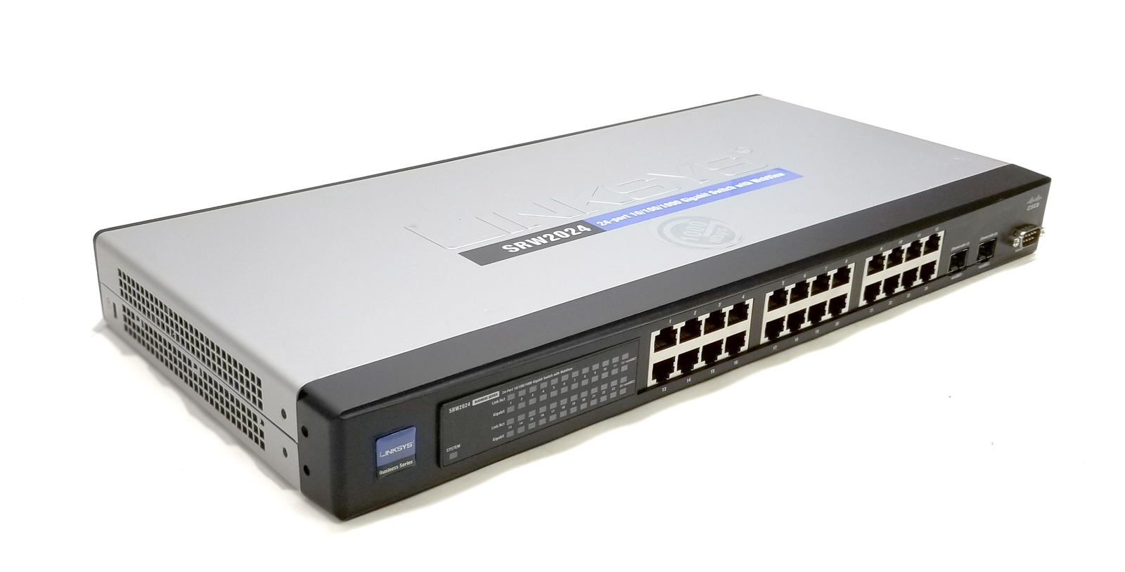 Linksys SRW2024 24 Port Gigabit Switch with WebView Bin: 2