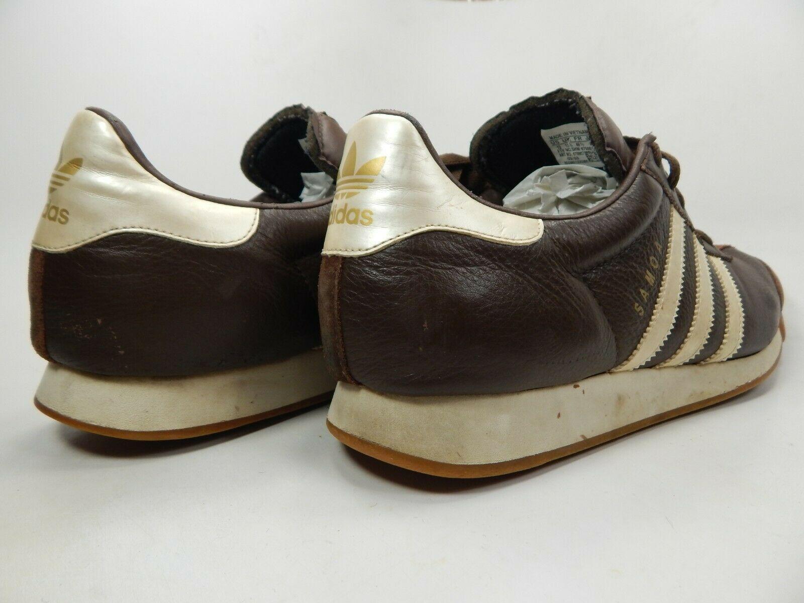 Adidas Samoa Größe US 12 M (D) Eu 46 2/3 Herren Freizeit Turnschuhe Braune image 5