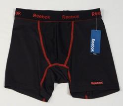Reebok Black & Red Stretch Boxer Brief Underwear Men's NWT - $14.99