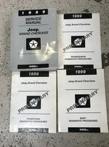 1999 JEEP GRAND CHEROKEE Service Repair Shop Manual Set W Diagnostics Pr... - $138.55