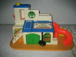 Vintage Fisher Price Little People Play Family Sesame Street Playhouse only #937 - $34.64