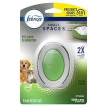 Febreze Small Spaces Air Freshener Pet Odor Eliminator Fresh Scent 1 count - $9.99