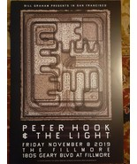 MINT PETER HOOK AND THE LIGHT Fillmore Poster 19 JOY DIVISION NEW ORDER - $28.99