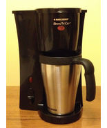 Black & Decker DCM18S Brew N Go Deluxe Coffee Maker with Stainless Steel... - $12.99