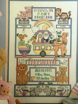 Leisure Arts Noah's Ark for Baby Book 2 Cross Stitch Pattern Animal Leaf... - $4.00