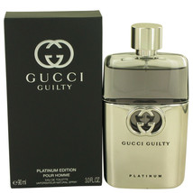 Gucci Guilty Platinum by Gucci Eau De Toilette Spray for Men - $68.99