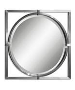Uttermost Kagami Brushed Nickel Mirror - $327.80