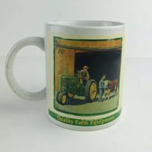 John  Deere  Tractor Company Brand  Coffee  Mug  2005 Collector Series  #31451 - $9.88