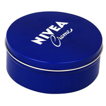 250 ML Nivea Crema Originale Tedesco pelle Mano Idratante Metallo Latta ... - $8.81