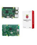 Raspberry Pi 3 Model B ARM Cortex-A53 CPU 1.2GHz 64-Bit Quad-Core 1GB RA... - $76.49