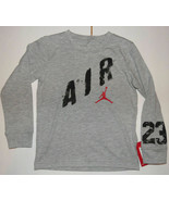 Air Jordan Nike Toddler Boys Long Sleeve T-Shirt Air 23 Jumpman Size 2T NWT - $19.39