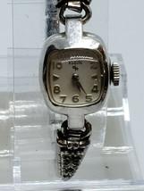 Vintage Elgin Brand Ladies Watch Needs Battery 10K Rgp Rolled Gold Plate Bezel - $26.99