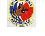unite cynophile patrouille french national police k 9 patrol unit 4 x 3.5 in 9.99 thumb155 crop