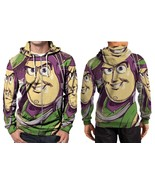 Buzz Lightyear Toy Story Character  Hoodie Zipper Fullprint Men - $51.99