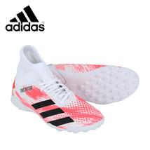 Adidas Jr. Predator 20.3 TF Football Shoes Youth Soccer Cleats White EG0929 - $66.99