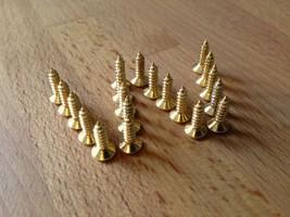Scratch plate / pick guard / screws x 20 gold plated, suits Tele, Strat ... - $3.59