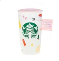 Starbucks Ban Do Pink Ceramic Traveler Mug 12oz Stay Cozy Sweater Weather Bando - $40.89